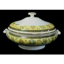Kyпить WEDGWOOD BONE CHINA ENGLAND INDIA ROUND COVERED VEGETABLE BOWL MINT на еВаy.соm