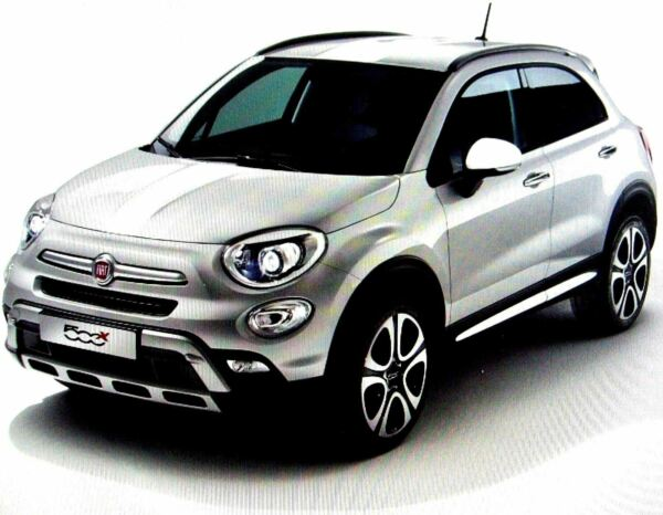 Royaume-UniFiat 500X Blanc Extra  Kit 71807426