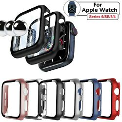 Kyпить For Apple Watch Series 6 5 4 SE 3 2 1 iWatch Screen Protector Case Snap On Cover на еВаy.соm