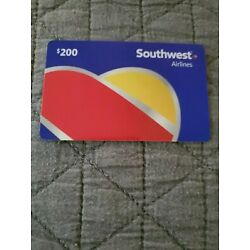 Kyпить $200 Southwest Airlines Gift Card *Free Shipping* на еВаy.соm