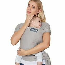 Kyпить Neotech Care Baby Wrap Carrier - Cotton - Breathable  Adjustable -grey на еВаy.соm