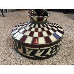 Kyпить Vintage Pizza Hut Tiffany Style Lamp/light (1 of 2) на еВаy.соm