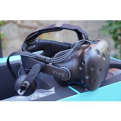 Kyпить HTC Vive Virtual Reality System with Deluxe Audio Strap * VR Headset Bundle * на еВаy.соm