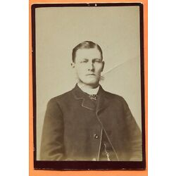 Kyпить Buffalo, NY, Portrait of a Young Man, ID'd, Mailed & Postmarked circa 1880s  на еВаy.соm