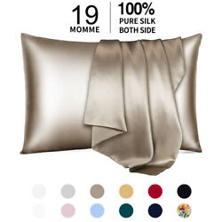 Kyпить 100% Pure Mulberry Silk Pillowcase 19 Momme Bed Pillow Cases for Hair and Skin на еВаy.соm