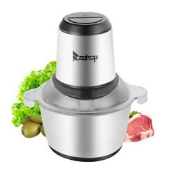 Kyпить ZOKOP 2L Automatic Meat Grinder Household Mincer Chopper Food Processor Home Use на еВаy.соm