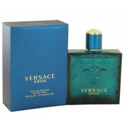 Kyпить New In Box Versace Eros by Gianni Versace 3.4 oz EDT Cologne for Men  на еВаy.соm