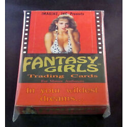 Kyпить 1993 Imagine Fantasy Girls Trading Card Box на еВаy.соm