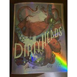 Kyпить Dirty Heads Band Autographed Foil Limited Edition Poster & Artist Signed 49/70 на еВаy.соm