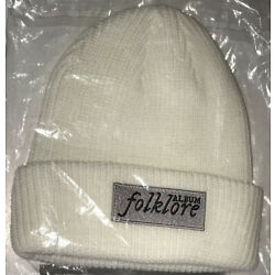 Kyпить New Taylor Swift Cream White Beanie From Her Folklore Limited Edition Collection на еВаy.соm