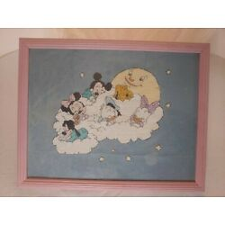 Kyпить Framed Disney Babies Embroidered Wall Decor на еВаy.соm