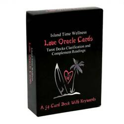 Kyпить 54 Sheets Love Oracle Board Party Family Game Tarot Cards With Keywords Deck на еВаy.соm