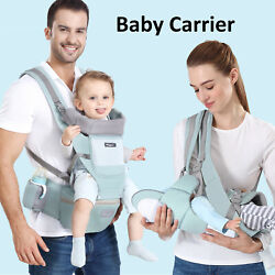 Kyпить 6 in 1 Newborn Infant Baby Carrier Breathable Ergonomic Adjustable Backpack US на еВаy.соm