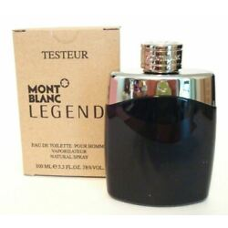 MONT BLANC LEGEND By MONT BLANC For Men 3.4 Oz EDT SP Tester In Box