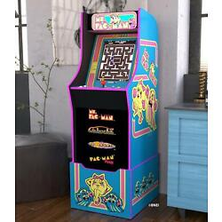 Kyпить MS PACMAN ARCADE MACHINE with Riser Retro Arcade Cabinet Nostalgia New 4 Games на еВаy.соm