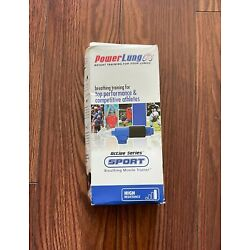 NEW Powerlung Active Series SPORT Breathing Trainer Power Lung