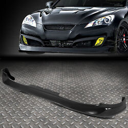 Kyпить FOR 10-12 GENESIS COUPE MS-STYLE FRONT BUMPER LIP LOWER SPOILER WING BODY KIT на еВаy.соm