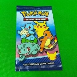 Kyпить 2021 McDonald's Pokemon 25th Anniversary Trading Cards Happy Meal Packs x1 на еВаy.соm