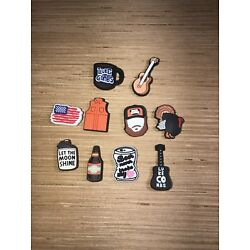 Kyпить NEW LOT of 10 luke combs charms Perfect for crocs clogs crafts & more vest face на еВаy.соm