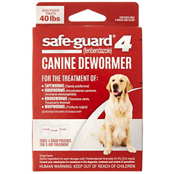 Kyпить 8in1 Safe-Guard 4 Canine De-Wormer for Large Dogs, 3 day treatment на еВаy.соm