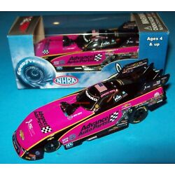 Courtney Force 2017 Advance Auto Pink Chevy Camaro Funny Car 1/64 NHRA Diecast
