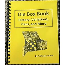 Kyпить Die Box Book-History,Variations,Plans, and More-Build this Classic Magic Trick  на еВаy.соm