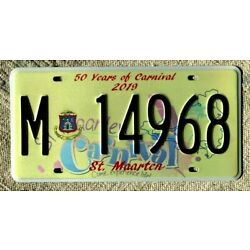 Kyпить St MAARTEN License Plate Tag: -  Celebrating 50 years of CARNIVAL  на еВаy.соm