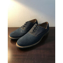Men s Blue Suede Shoes - Size 9.5 - Made By Aldo