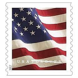 Kyпить  2017 USPS Forever Flag Stamps Coil of 100 stamps ~SEALED~ SELF ADHESIVES STAMPS на еВаy.соm