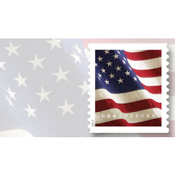 Kyпить 2017 Forever USPS Flag Stamps ~Coil of 100 stamps~ SELF ADHESIVES STAMPS на еВаy.соm