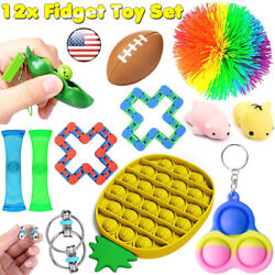 Kyпить 12 Pack Fidget Toy Set Sensory Hand Tools Bundle SENS Autism Stress Relief Toys на еВаy.соm