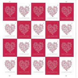 Kyпить 300 (15 Sheets of 20 Stamps) USPS Love Hearts Forever Stamps  -  MNH~Brand New на еВаy.соm