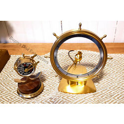 Kyпить Rare Jefferson Golden Helm Clock-Immaculate Condition на еВаy.соm