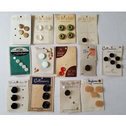 Kyпить Lot of Vintage NOS Buttons Le Chic Costumakers Pearl On Cards Jewel Tone на еВаy.соm