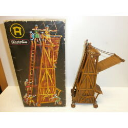 Kyпить Old Hausser Elastolin Siege Tower 9885 4 For Normans Knight To 1 5/8in Boxed на еВаy.соm