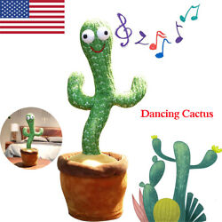 Kyпить Dancing Cactus Plush Toy Electronic Shake with Song Dance Plant Kids Gifts US на еВаy.соm