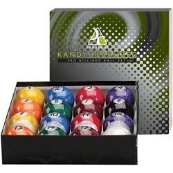 Kyпить KANDY PEARLIZED Pro Series Pool/ Billiards Balls Full 16 Set - SWIRL MARBELIZED  на еВаy.соm