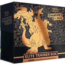 Kyпить Pokemon TCG Champion's Path Elite Trainer Booster Box - 10 Booster Packs Plus Mo на еВаy.соm
