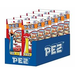 PEZ Disney World of Cars/Planes Candy Assortment, .87 Ounce (Pack of 12)