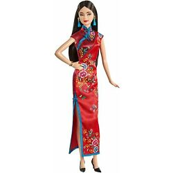 Kyпить Barbie Signature Lunar New Year Doll (12-inch Brunette) Wearing Red Satin... на еВаy.соm