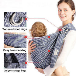 Kyпить Hip Baby Wrap Ring Sling Baby Carrier for Infants and Toddlers Carrier Wraps  на еВаy.соm