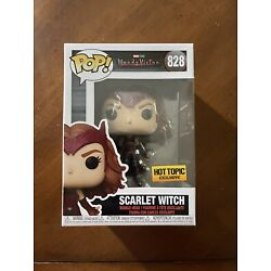 Kyпить Funko POP! Marvel Wandavision Scarlet Witch #828 HOT TOPIC Exclusive Fast Ship на еВаy.соm