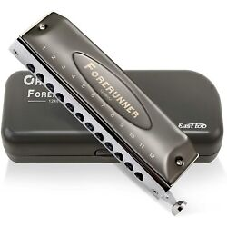 Easttop Forerunner 12holes new chromatic harmonica without valves only key of C