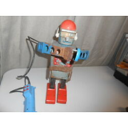 Kyпить VINTAGE 50'S/60'S MARX BATTERY OPERATED TIN LITHO MR MERCURY ROBOT PARTS REPAIR на еВаy.соm