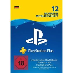 Kyпить PlayStation Plus Abo | 12 Monate | deutsches Konto | PS5/PS4/PS3 Download Code на еВаy.соm