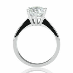 Kyпить 1 Carat Elegant Round Cut Diamond Engagement Ring H/VS2 14K White Gold на еВаy.соm