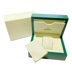 Kyпить Rolex Luxury Watch Box Outer Case, Sleeve And Duster на еВаy.соm