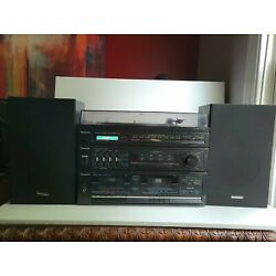 Kyпить VTG 80's Panasonic SG-D16 Stereo System Turntable Dual Cassette Player Speakers на еВаy.соm