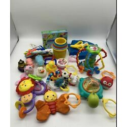Kyпить Lot Of 20 Baby Toys mixed, very good quality and good shape на еВаy.соm