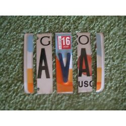 Kyпить License Plate Letters, Special Order, Sassy, 40As, 20Os, 10Hs, 10Ls, 5Fs 4Is +#s на еВаy.соm